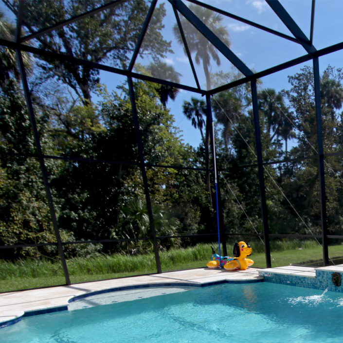Boca Rescreening uses professional grade screening for your pool enclosure